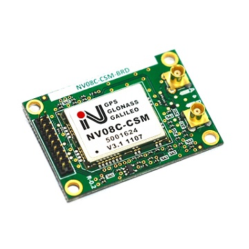 NV08C-CSM-BRD GNSS Receiver Board
